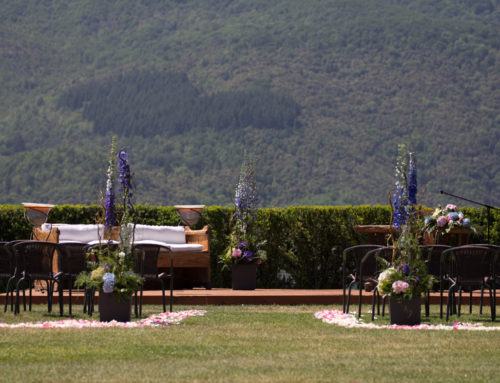 Ceremonia Civil Mas Can Ferrer 'Blue Delph'